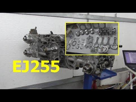 Фото к видео: Subaru / EJ255 / Ремонт двигателя
