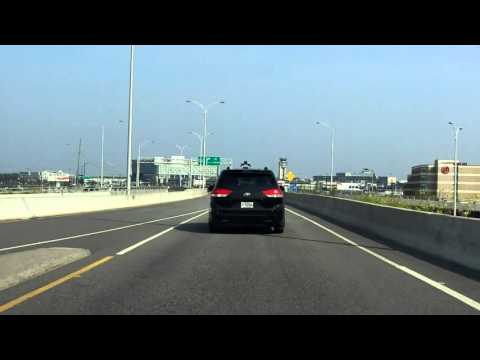 Montreal - Pierre Elliott Trudeau International Airport Access Road inbound