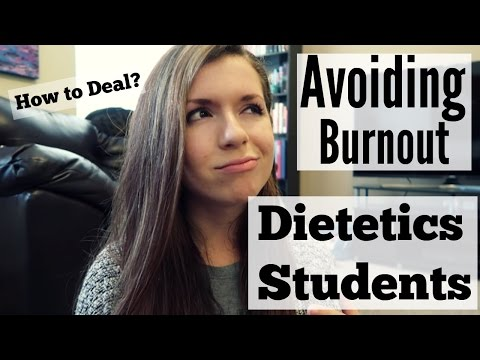 Staying Motivated In School | Nutrition & Dietetics Majors || Senioritis, Burnout, and How To Cope!