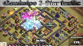 Clash of clans gowiwipe attack strategy episode 4 - combo with 2 JUMP spell