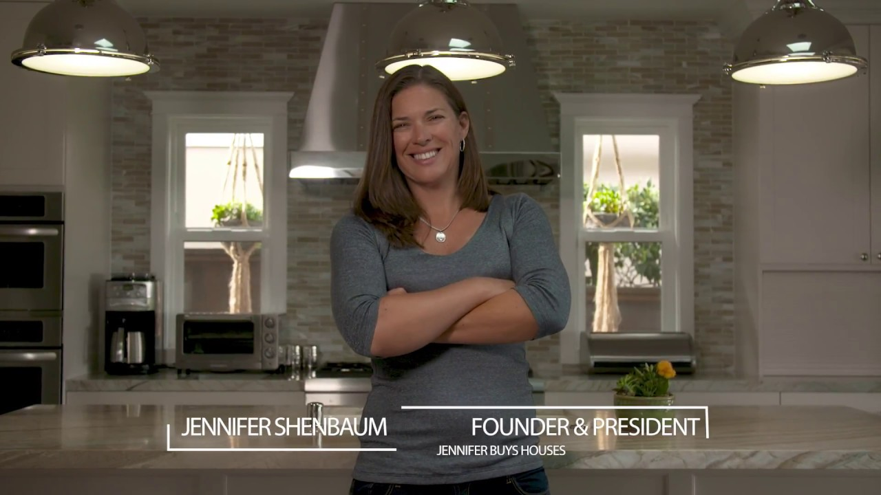 Welcome to Jennifer Buys Houses, where we buy houses. Sell your house fast. It's simple, fast, cash.