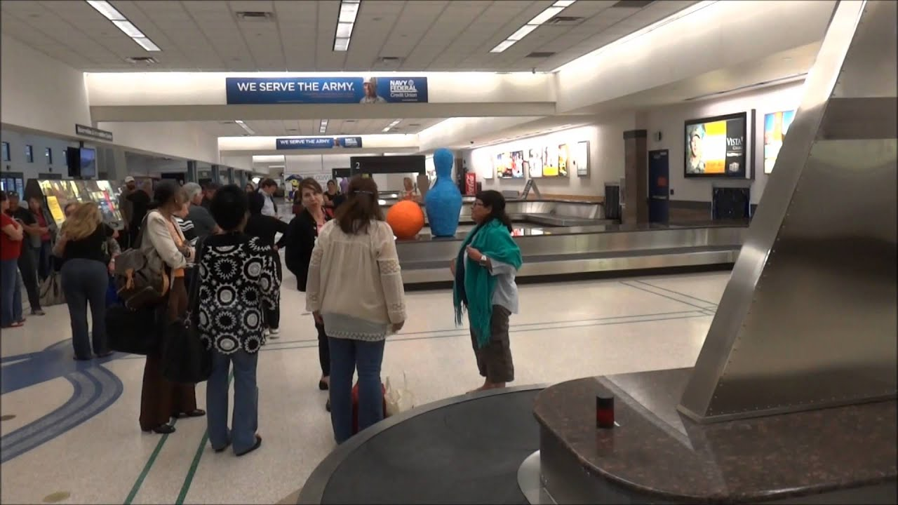 The Baggage Claims at El Paso International Airport are being replaced El Paso, TX