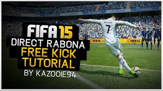 FIFA 15 - Direct Rabona Free Kick Tutorial