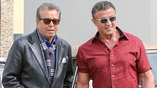 Stallone Stays Out Of Arnold's Feud With Trump