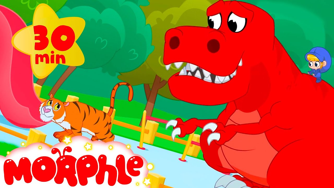 The Scary Animal Bandits + More Mila and Morphle Cartoons   Morphle vs Orphle - Kids Videos