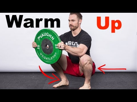 The GREATEST Squat Warm Up Routine