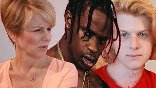 Mom reacts to Travis Scott - goosebumps ft. Kendrick Lamar