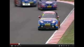 MG KX Momentum Racing - MG6 - Jason Plato -  BTCC 2012.avi