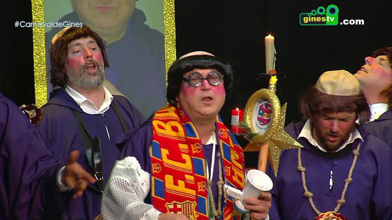 Asociación La Cáscara de Gines. Carnaval de Gines 2018 (Cuarta semifinal)