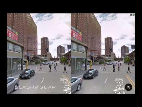 Google Cardboard VR Street View