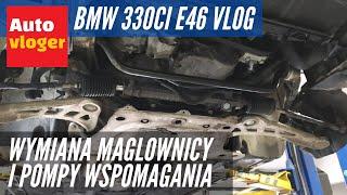 BMW 330Ci - ponowna regeneracja magla, padnięta pompa wspomagania, na podnośniku