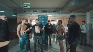 XFN   fight on weighing