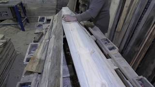 """Изготовление заготовок гробов под ткань. Изготовление крышки гроба. Форма """"киевская"""""""