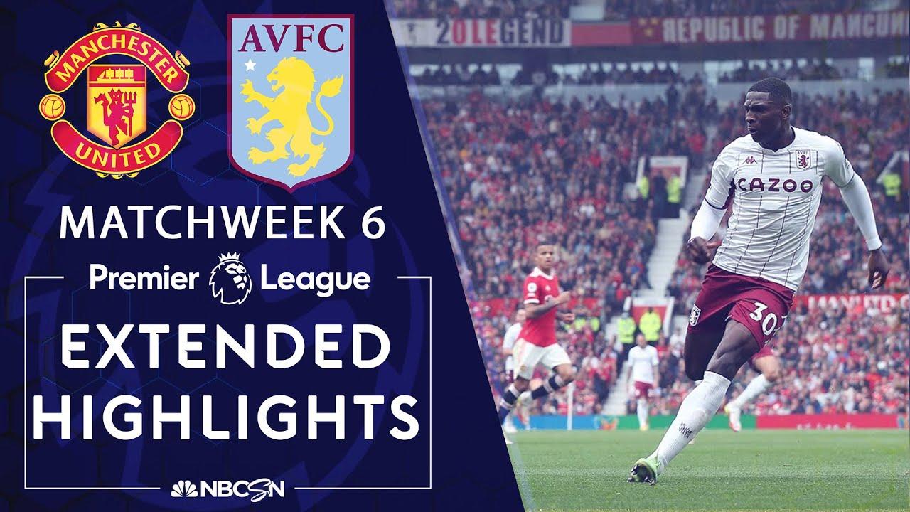 Download Manchester United v. Aston Villa | PREMIER LEAGUE HIGHLIGHTS | 9/25/2021 | NBC Sports