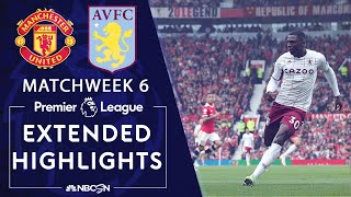 Manchester United v. Aston Villa | PREMIER LEAGUE HIGHLIGHTS | 9/25/2021 | NBC Sports