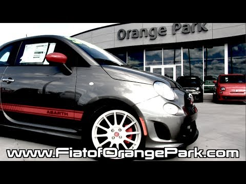 fiat 500 abarth - test drive from fiat of orange park - jacksonville