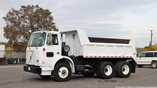 2002 Volvo WX64 10 Yard Tandem Dump Truck for sale