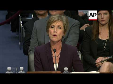 Yates: Warned WH Flynn Could Be Blackmailed