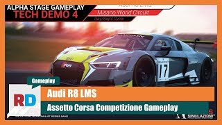 Assetto Corsa Competizione Gameplay - Audi R8 LMS @ Misano Day/Night Transition