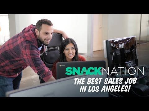 SnackNation: The Best Sales Job in Los Angeles - Silicon Beach Jobs