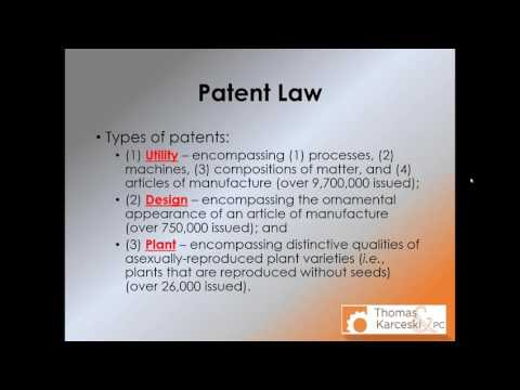Webinar: Patents, and Trademarks  What You Need to Know!