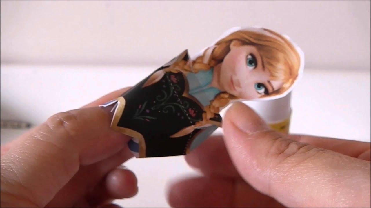 Populares Tutorial da Boneca para Montar de Papel Sulfite - Princesa Anna  PM88