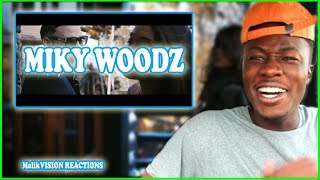 Miky Woodz Baby Light It Up REACTION! | MalikVISION REACTIONS