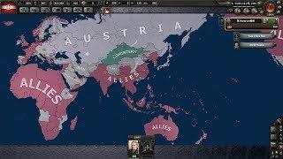 HoI4 オーストリアで二重帝国領回復