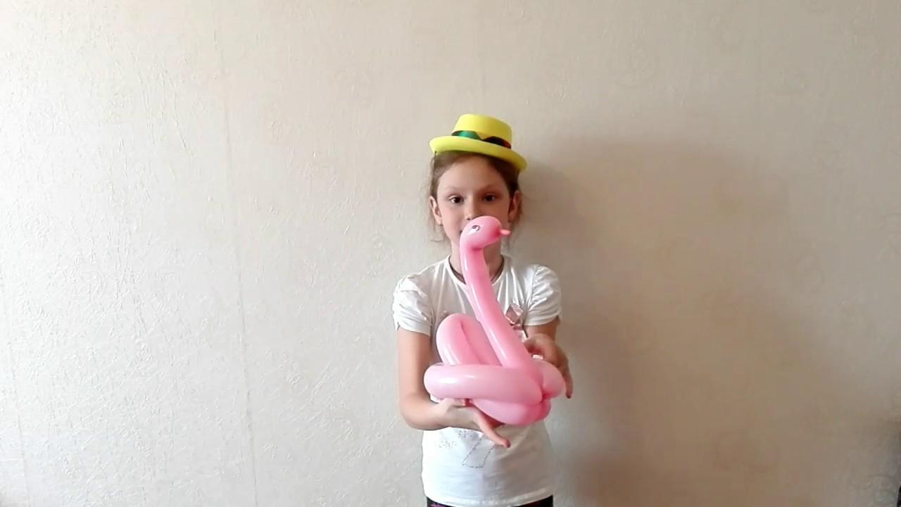 Лебеди из шаров своими руками фото 499