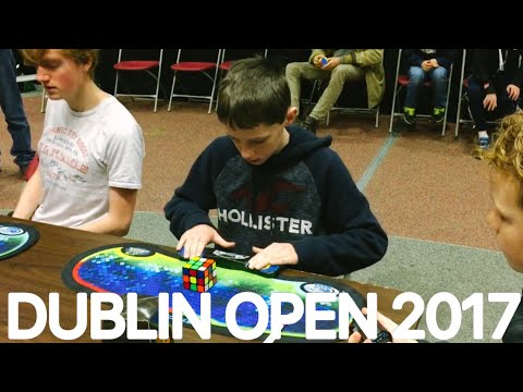 My best solves from Dublin open 2017!
