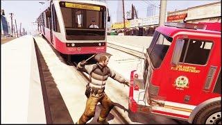 GTA 5 - Lugares absurdos para o seu carro quebrar - Parte 3