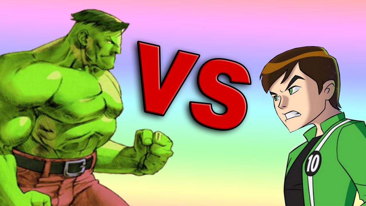 c84d23f1360 Hulk VS Ben10 - YouTube