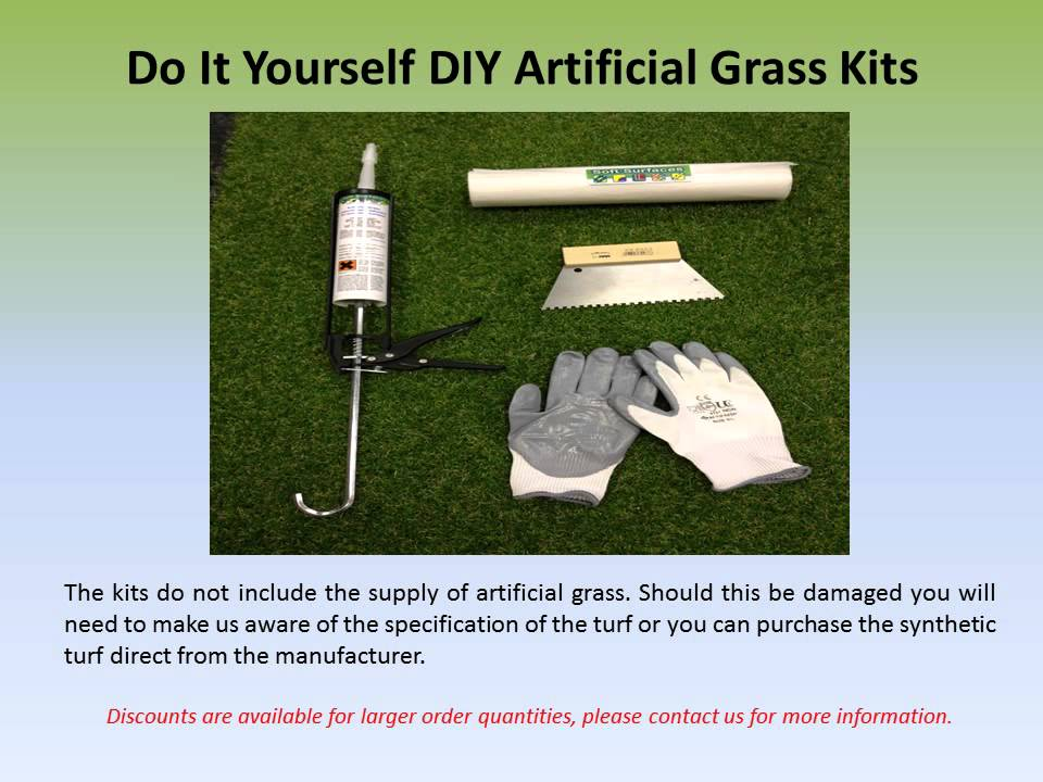Diy artificial grass installation kits for synthetic lawns youtube diy artificial grass installation kits for synthetic lawns solutioingenieria Choice Image