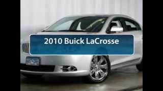 Used 2010 Buick LaCrosse For Sale Minneapolis, St. Cloud & Monticello MN B12-188A