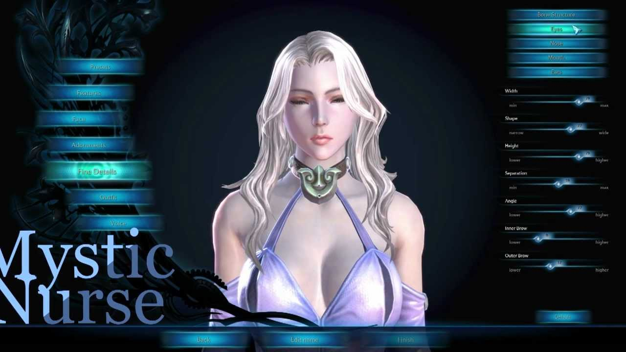 TERA Online: My Character Creations   With Sliders - YouTube: https://www.youtube.com/watch?v=pCG5WUffqmc
