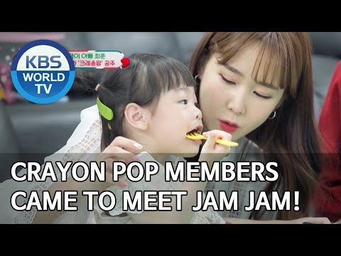 Crayon Pop members came to meet Jam Jam! [The Return of Superman/2019.12.29]