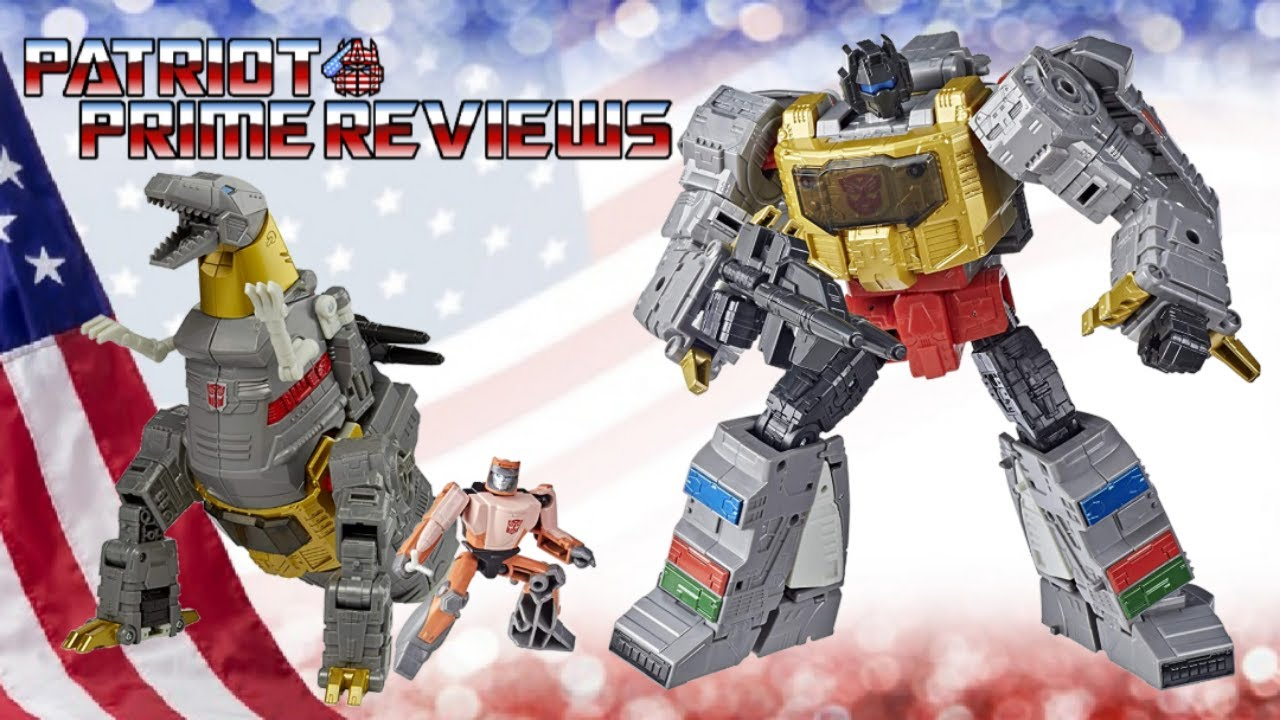 Patriot Prime Reviews Studio Series 86 Grimlock & Wheelie