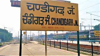 Chandigarh Junction Railway Station (Old).!