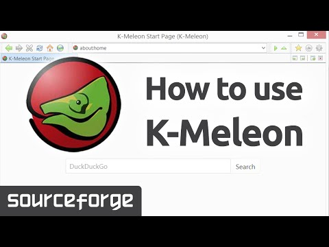 How to Use K Meleon for Windows