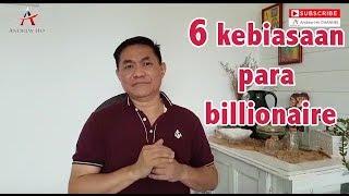 6 Kebiasaan Para Billionaire