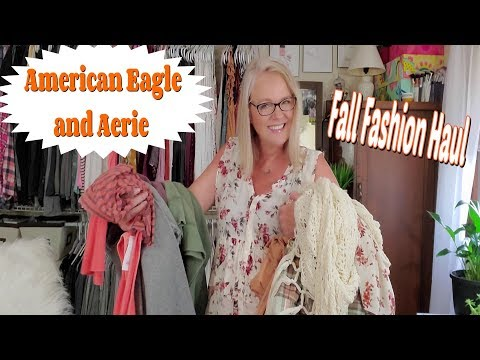 American Eagle And Aerie Fall Fashion