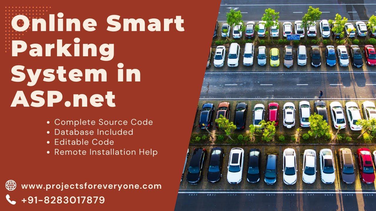 Online Parking Website / Project in ASP Net with C# Net & Sql Server -  www projectsforeveryone com