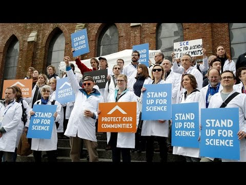 Thumbnail: Scientists Make Stand Against Trump
