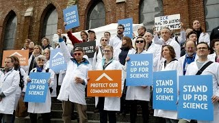 Scientists Make Stand Against Trump