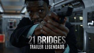 21 Bridges • Trailer Legendado