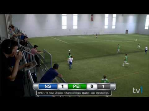 2016 U15 Boys Atlantics G6 NS vs PEI