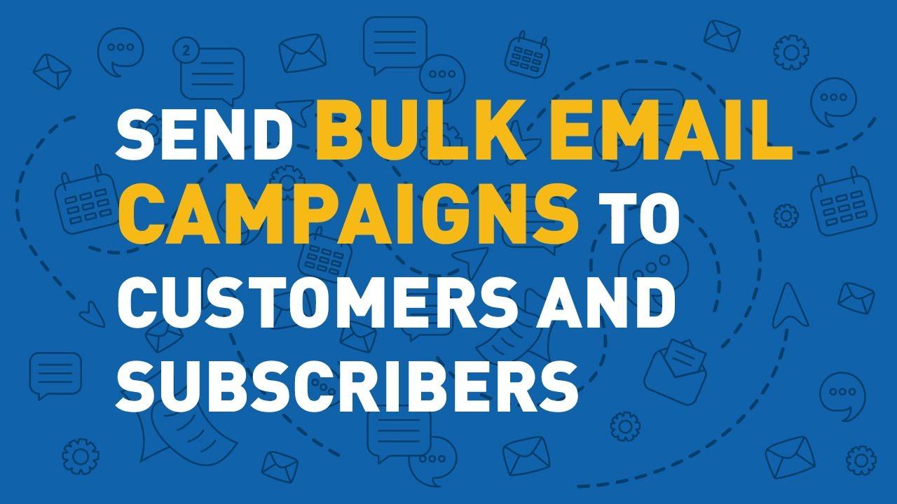 Bulk Email Marketing Software for Online Business