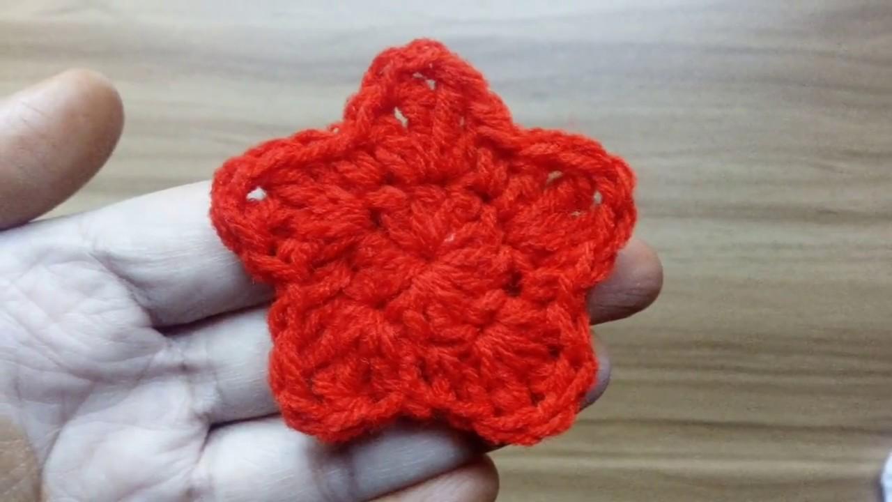 Star Applique How To Crochet A 5 Point Star Crochet A Star