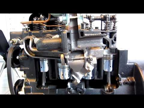 Toyota A Type Gasoline Engine (1935, Replica)
