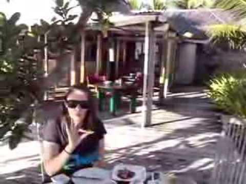 Tonga Fafa island breakfast.